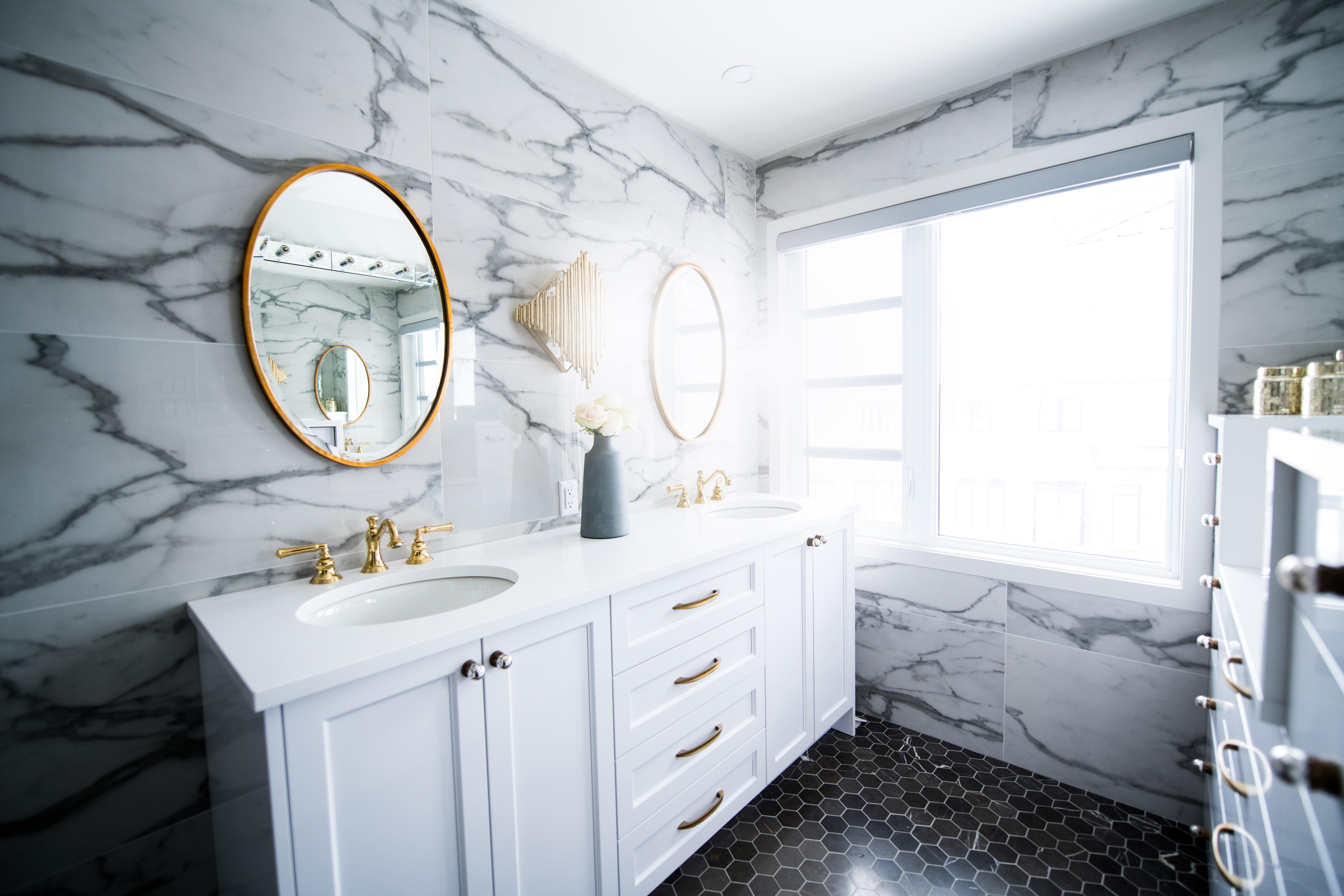 marmol baño