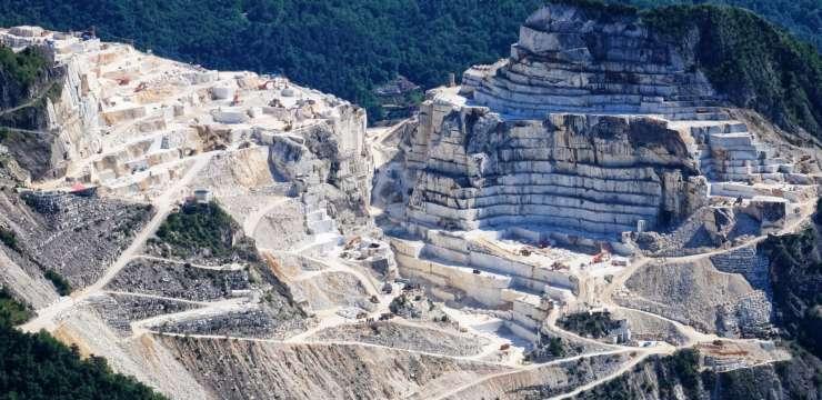 proceso extracción marmol