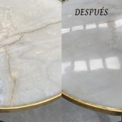 Reparación de superficies de piedra